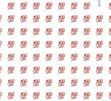Fire emoji 100 collage Sticker