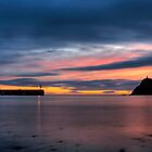 Port Erin After Sunset by RedMann