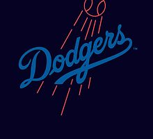 los angels dodgers by rindubenci69
