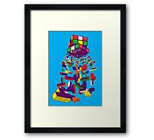 The God Cube Framed Print