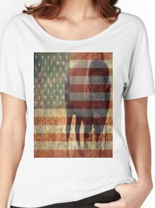 Bison Flag Women's Relaxed Fit T-Shirt