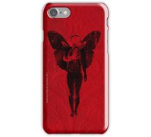 butterfly man v2 iPhone Case/Skin