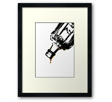The Very Last Drop...  Framed Print