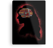 Phrenology of a witch  Metal Print