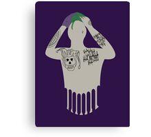 Suicide Squad Joker Canvas Print