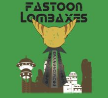 Fastoon Lombaxes Team Design (Ratchet and Clank) (Worn Version) T-Shirt