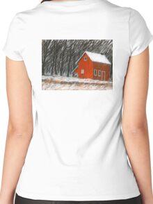Winterwärme Women's Fitted Scoop T-Shirt