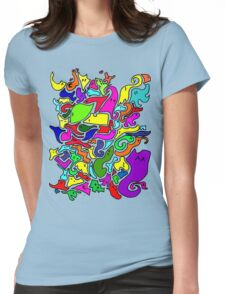 Inside the Gamer's mind Womens Fitted T-Shirt