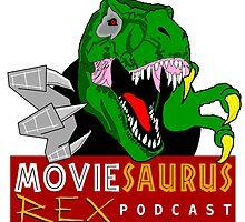 The Moviesaurus Rex Podcast Logo by MRexPodcast