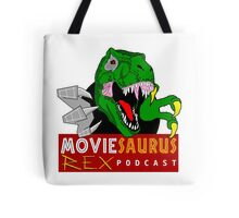 The Moviesaurus Rex Podcast Logo Tote Bag