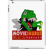 The Moviesaurus Rex Podcast Logo iPad Case/Skin