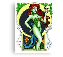 Art Nouveau Poison Ivy Canvas Print