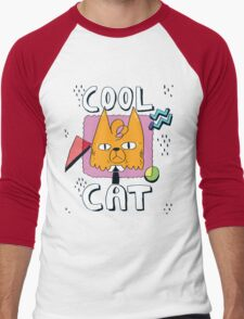 Cool Cat Men's Baseball ¾ T-Shirt
