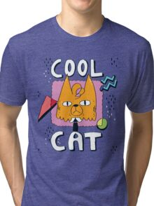 Cool Cat Tri-blend T-Shirt