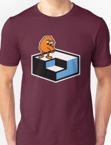 Q*Bert Skateboarding Unisex T-Shirt
