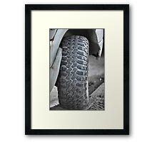 off-road      Framed Print