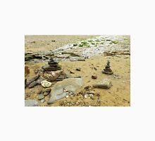 Stacked Stones on Durgan Beach, Cornwall Unisex T-Shirt