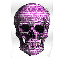 Sexy skull! Poster