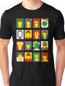 Faces of Carrey Unisex T-Shirt