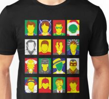 Faces of Carrey Unisex T-Shirt