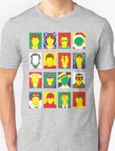 Faces of Carrey T-Shirt