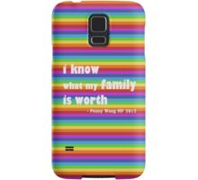 Penny Wong rainbow sticker Samsung Galaxy Case/Skin