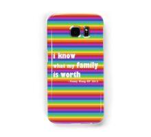 Penny Wong rainbow sticker Samsung Galaxy Case/Skin