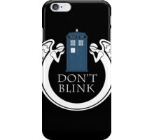 doctor Who angels TARDIS tenth doctor  iPhone Case/Skin