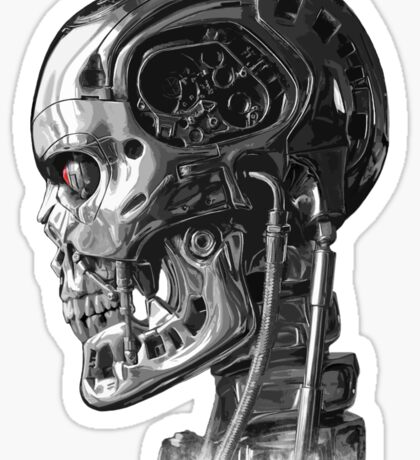 Terminator Profile Sticker