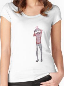 snapy Women's Fitted Scoop T-Shirt