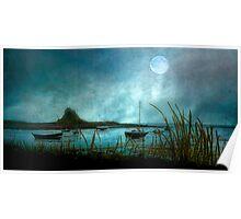 Lindisfarne Moon  Poster