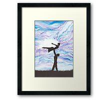 Love Takes Flight Framed Print