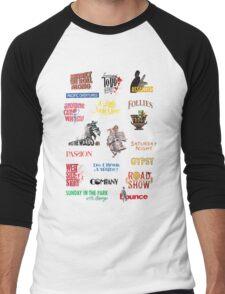 Sondheim Musicals  Men's Baseball ¾ T-Shirt
