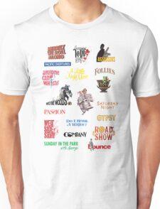 Sondheim Musicals  Unisex T-Shirt