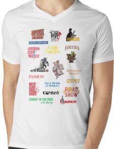 Sondheim Musicals  Mens V-Neck T-Shirt