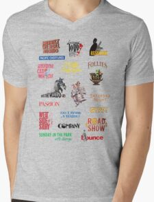 Sondheim Musicals  Mens V-Neck T-Shirt