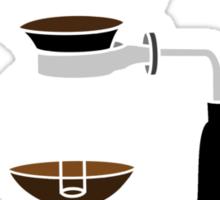 Coffee Monkey - Syphon Coffee Sticker