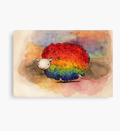 Nyan Sheep Canvas Print