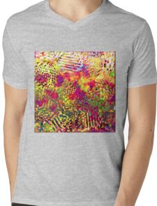 1231 Abstract Thought Mens V-Neck T-Shirt
