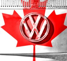 CANADIAN VW Sticker