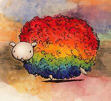 Nyan Sheep by studinano