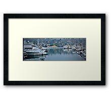 America's Cup Harbor San Diego, California Framed Print