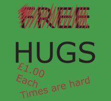 no more free hugs Kids Clothes