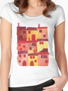 Tuscan Holiday Women's Fitted Scoop T-Shirt