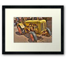 """Old Yeller""  HDR  Framed Print"