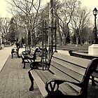 Victoria Park Benches by luckoftheirish