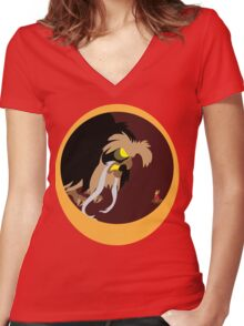 Mrs. Jonathan Brisby Women's Fitted V-Neck T-Shirt