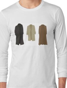 A study in trenchcoats Long Sleeve T-Shirt