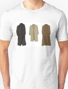 A study in trenchcoats Unisex T-Shirt
