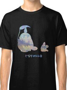 My Winter Neighbour Totoro Buddy Black Classic T-Shirt